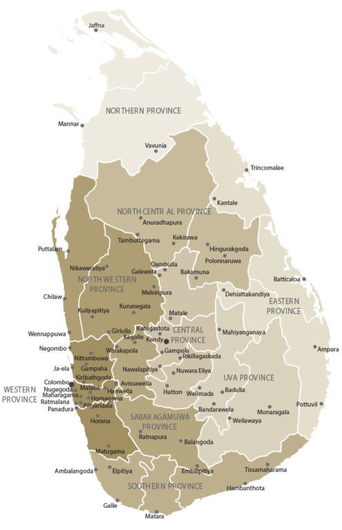 Central Finance Branch Map